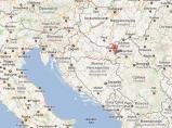 map Vukovar