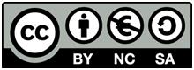 Creative Commons Lizenz: CC-BY-NC-SA