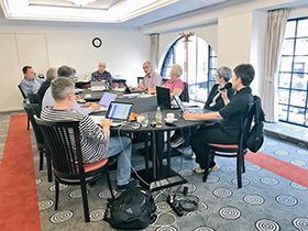 EUNET board meeting on October 19th 2017 at Budapest