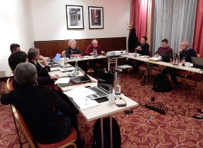 Board meeting from December 17th to 19th 2014 at Freising