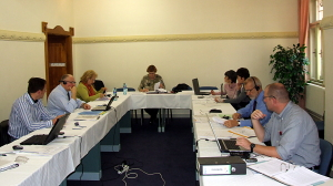 board meeting at Trenčianske Teplice 2008