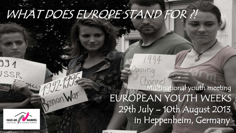 What does Europe stand for?!
