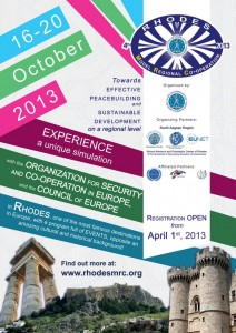 RhodesMRC 2013 University edition