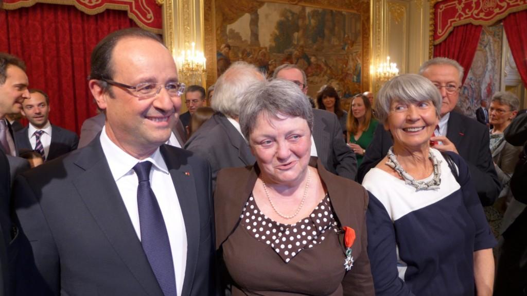 Legion d'honneur pour Catherine Guy-Quint