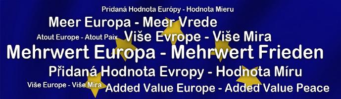 Mehrwert Europa - Mehrwert Frieden