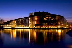 EP Strasbourg by night