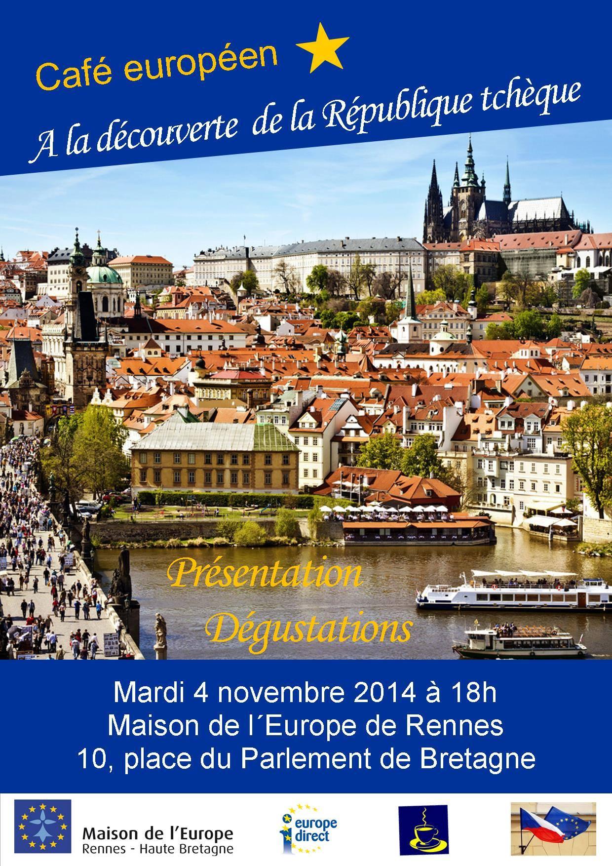 Café européen - A la découverte de la République tchèque @ ME Rennes | Rennes | Brittany | France