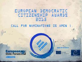 European Democratic Citizenship Awards