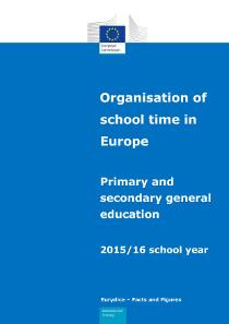 Organisation of school time in Europe