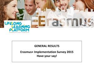 LLL-Platform Erasmus+ Survey report