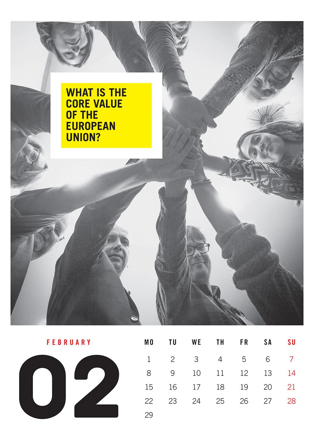 EUNET Calendar February 2016