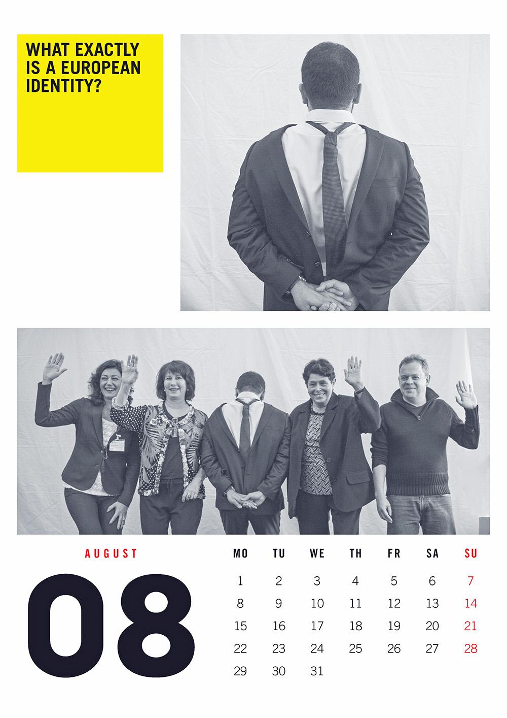 EUNET Calendar August 2016