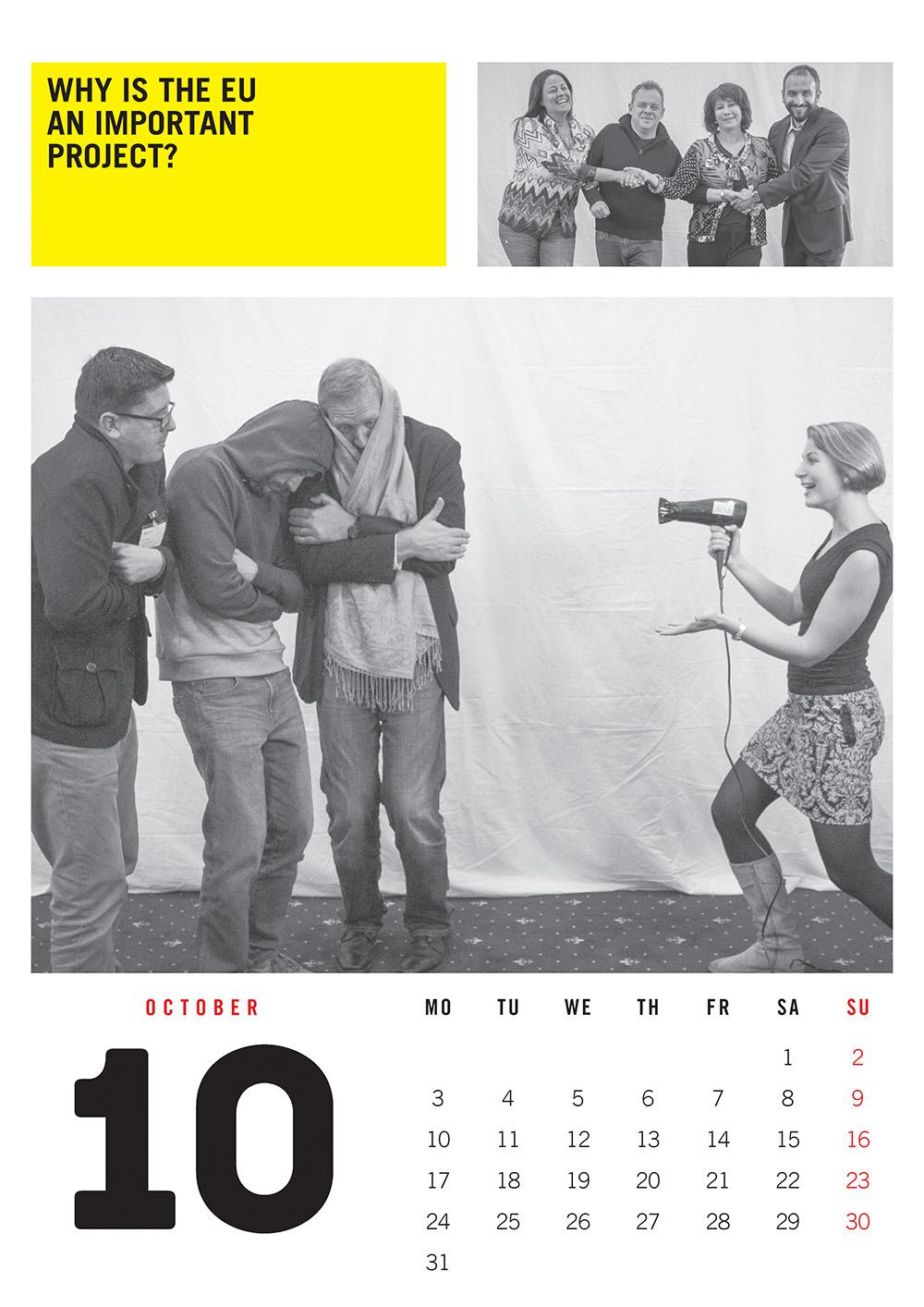 EUNET Calendar October 2016