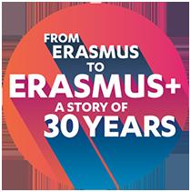 30 years Erasmus+