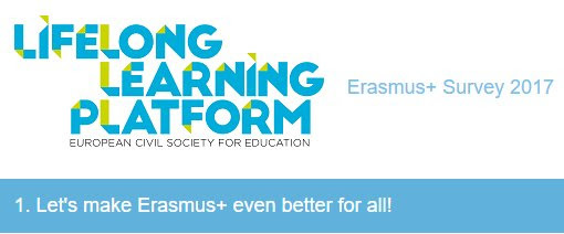 Erasmus+ survey 2017