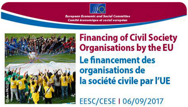 Financing of civil society organisations by the EU